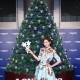 浪琴表全球代言人林志玲點亮聖誕樹傳遞溫暖之光