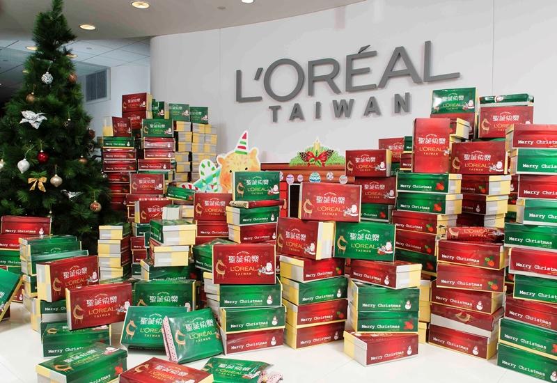 施比受更有福!L'Oréal為弱勢家庭打造溫馨耶誕節