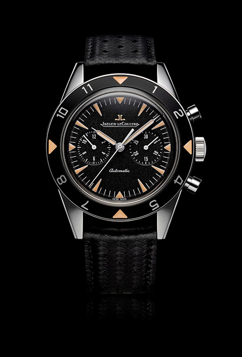 積家Deep Sea Vintage Chronograph深海計時腕錶,Q207857J,建議售價NT$354,000