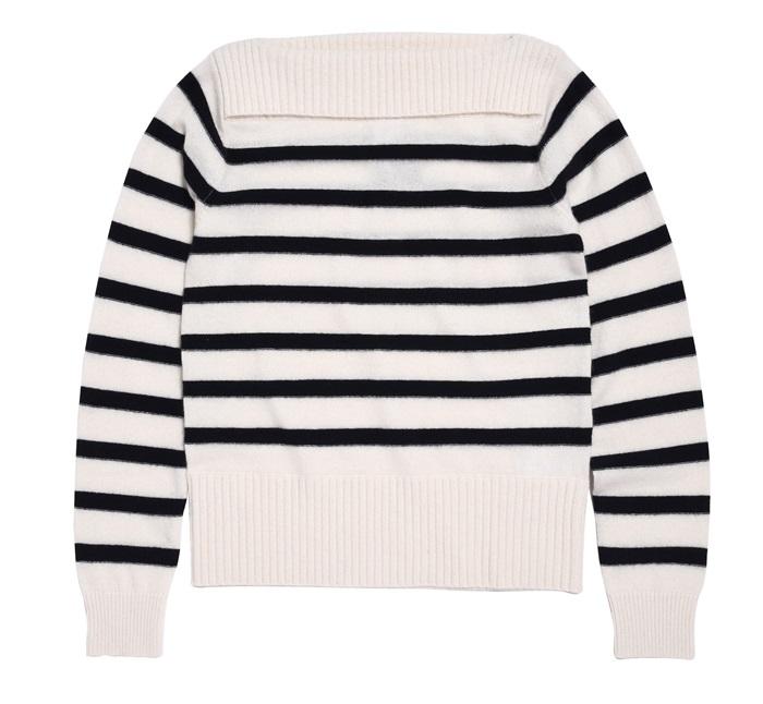 Club Monaco Cashmere條紋針織衫 $12,900