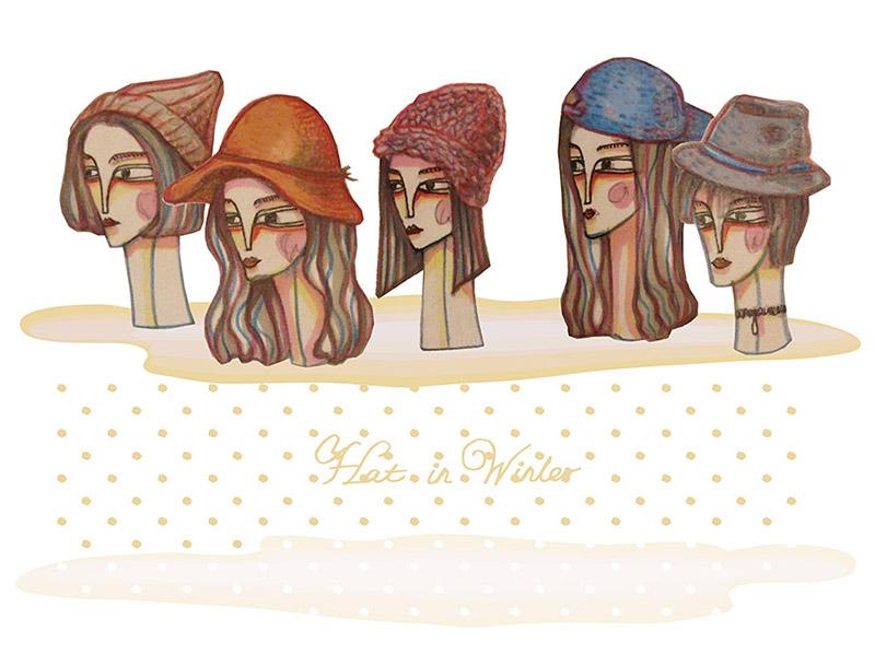 冬日不退燒帽款 – 一週五天造型搭配當個瘋狂帽客