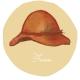 WEDNESDAY : 毛呢寬簷帽(Fedora)