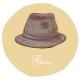 FRIDAY : 紳士帽(Gentry)