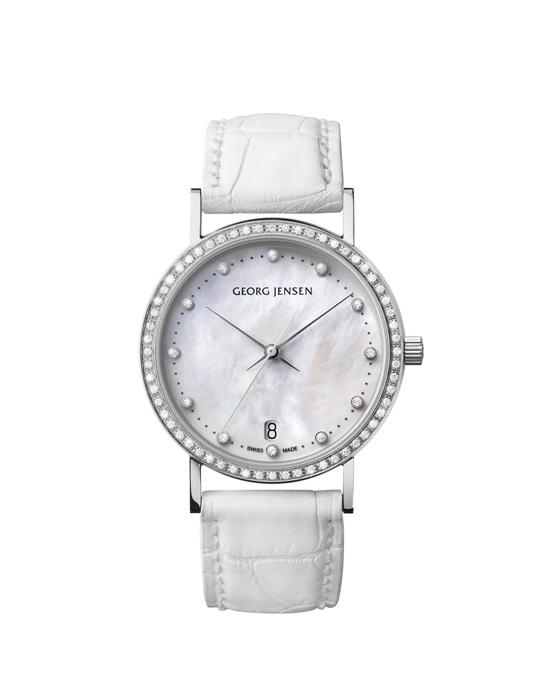 GEORG JENSEN_KOPPEL系列鑽石腕錶
