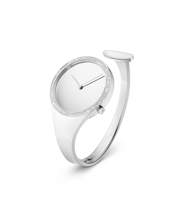 GEORG JENSEN_VIVIANNA朵蘭系列_鑲嵌鑽石手鐲腕錶