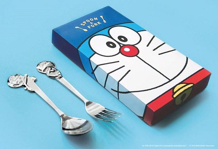 哆啦A夢造型匙叉組