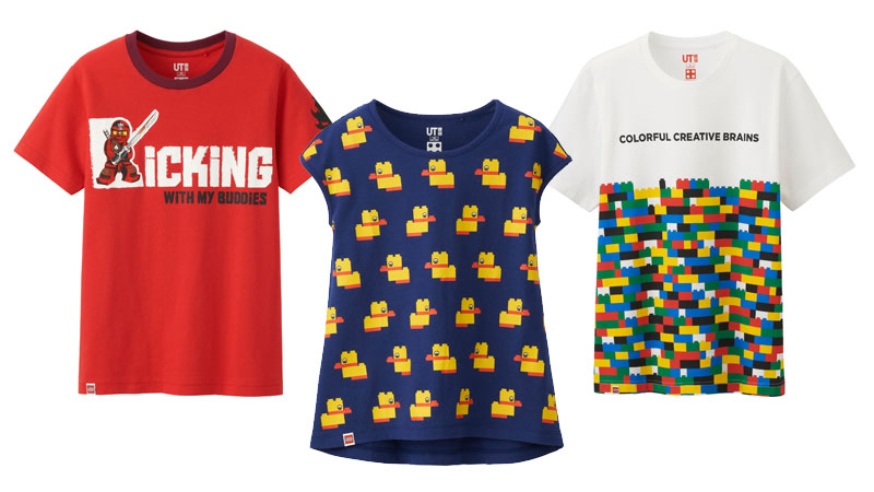 趣味樂高穿上身!UNIQLO × LEGO 聯名T恤 全台風靡上市