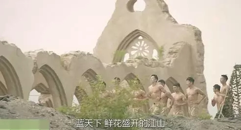 士兵們晨跑的風景