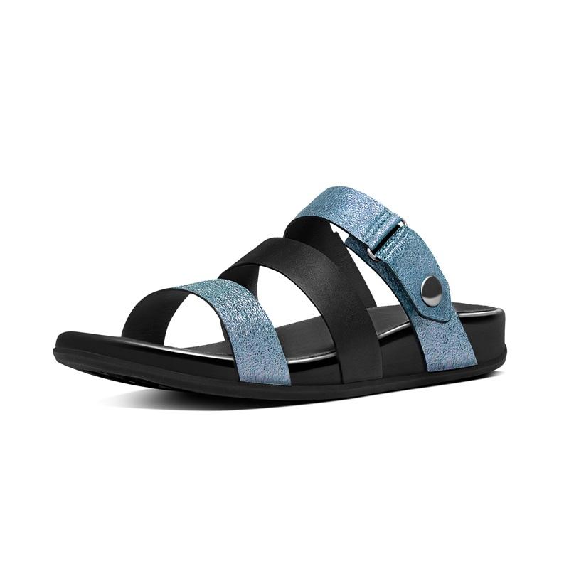 GLADDIE™ SLIDE  三帶涼鞋 海軍藍色建議售價5,650元