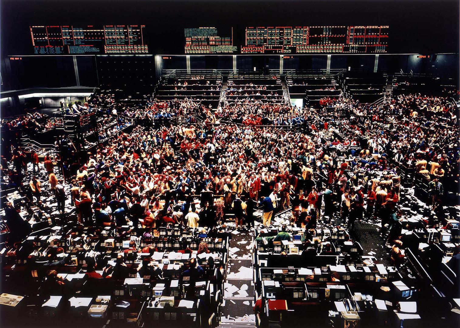 攝影師Andrea Gursky創下拍賣高價的藝術作品