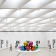 Jeff Koons的藝術品「鬱金香」