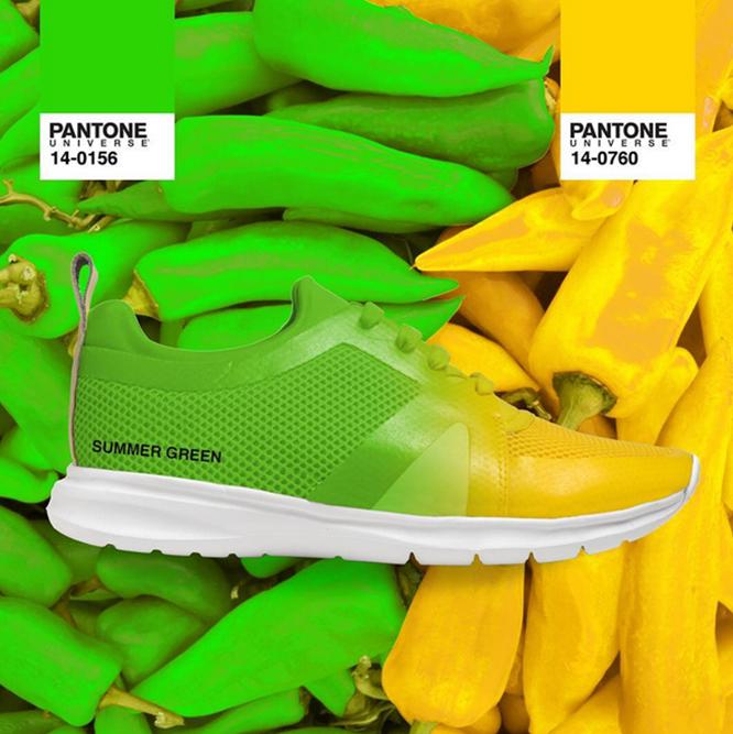 Kilimanjaro利用透氣網眼材質搭配氣墊鞋底,有七個顏色可選