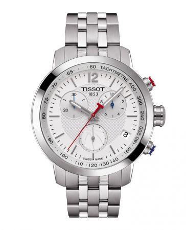 NBA 傳奇Muggsy Bogues 配戴男款TISSOT PRC 200系列NBA 特別版腕錶,NT$16,900