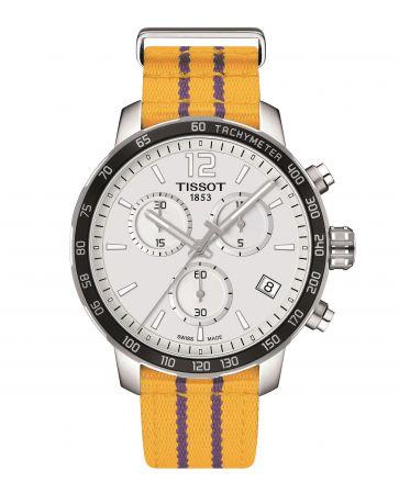 TISSOT Quickster 時捷系列NBA 特別版腕錶 – 洛杉磯湖人隊代表色 NT$12,700