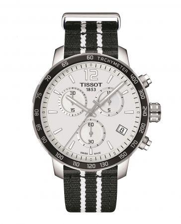TISSOT Quickster 時捷系列NBA 特別版腕錶 – 聖安東尼奧馬刺隊代表色 NT$12,700