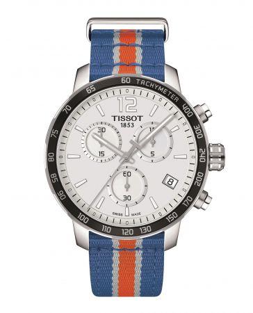 TISSOT Quickster 時捷系列NBA 特別版腕錶 – 紐約尼克隊代表色 NT$12,700