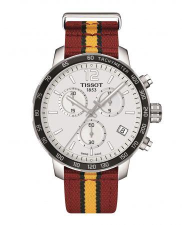 TISSOT Quickster 時捷系列NBA 特別版腕錶 – 邁阿密熱火隊代表色 NT$12,700