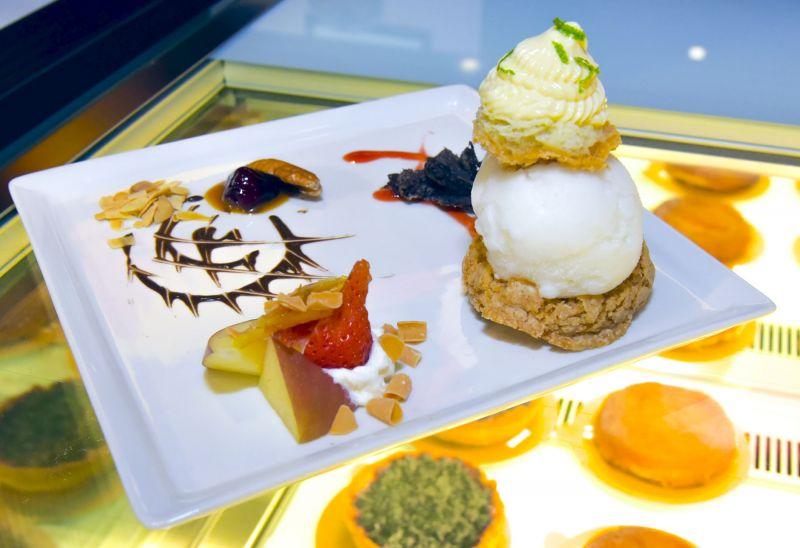 法國MOF冰淇淋甜點品牌Louise 首度引進法式甜點「波菲提」尼斯波菲堤:脆皮波菲堤、檸檬冰淇淋、檸檬醬
