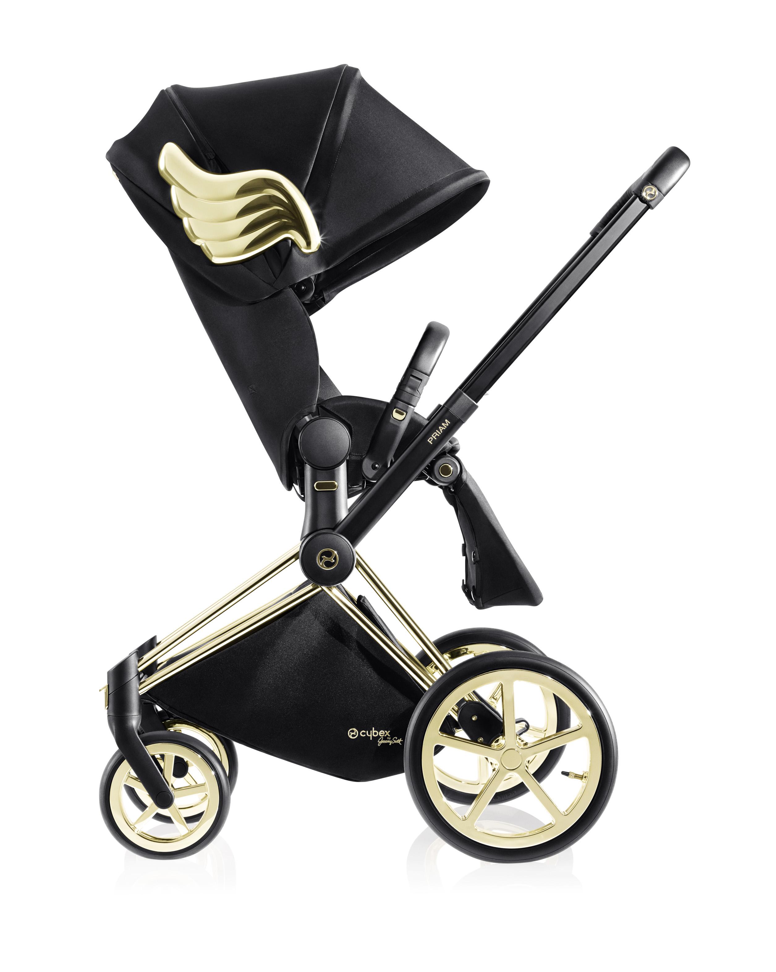 CYBEX by Jeremy ScottPriam 經典嬰兒車(車架+座騎)NT82,000