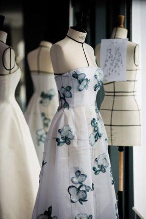 劉亦菲的DIOR訂製禮服過程