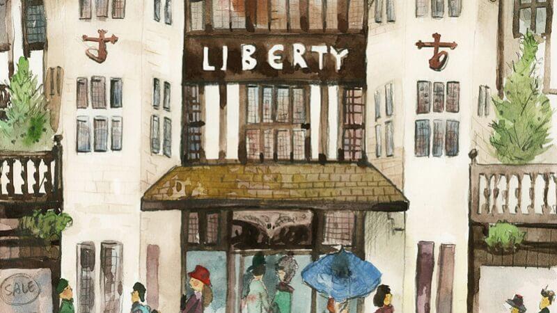 LIBERTY經典百貨公司 – 傳統建築V.S時尚商品