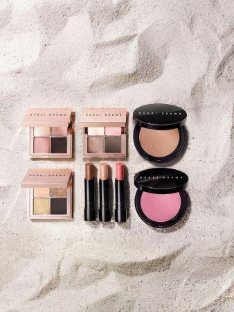 BOBBI BROWN 陽光輕吻沙灘限量系列來自邁阿密沙灘及密西根湖的金色陽光,為你的肌膚吻上古銅光芒。