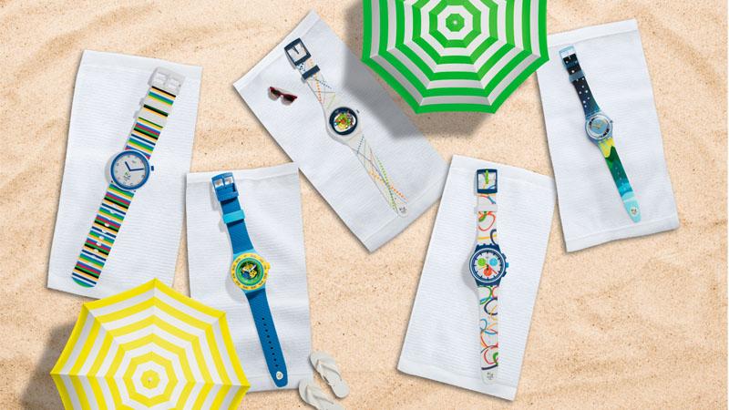 SWATCH變身夏日足球迷!打造繽紛限定腕錶