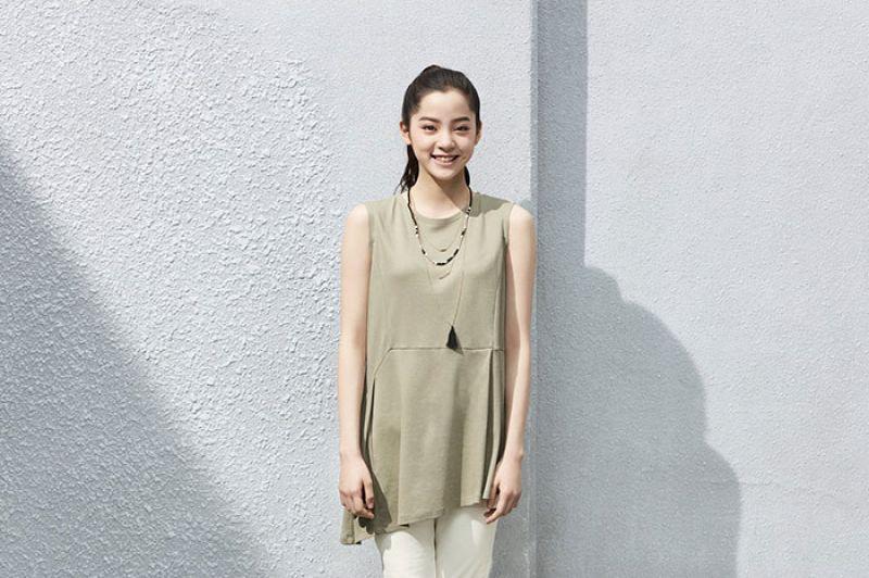 第一彈:不對稱設計上衣5/9發售