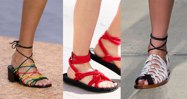 由左至右:Chloe / Isabel Marant / Thakoon浪漫羅馬鞋不知從哪一季開始,每年春夏總能見到羅馬鞋款出現在伸展檯上,線條感濃厚的款式,依照材質而呈現出帥氣或優雅的風格,是種風格多變的鞋款。