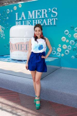 路嘉怡擔任海洋拉娜2016世界海洋日活動主持人
