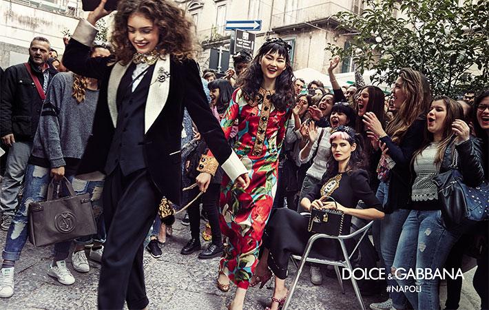 Dolce & Gabbana公主們走上街頭!秋冬形象邀街頭素人入鏡