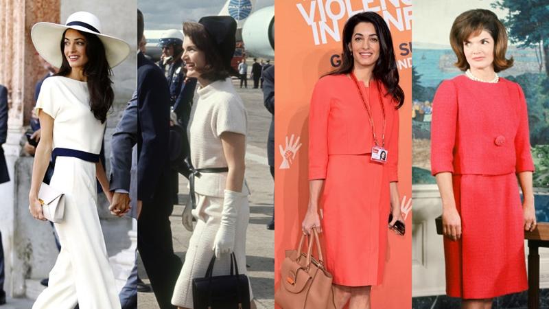 賈桂琳甘迺迪v.s Amal Clooney!40年後照樣經典的10個優雅造型