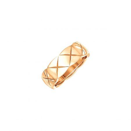 """COCO CRUSH ""戒指_小型款 (新品)18K Beige米色金。建議售價NTD 71,000元"