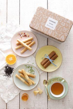 Afternoon Tea 精選蛋捲禮盒7月7日預購開跑,以高質感禮盒搶占秋節商機!