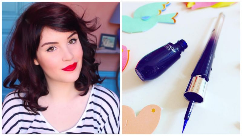法國美妝部落客Allison也在allyfantaisies網站上對於黑天鵝超精準眼線液的順手度給予高評價。