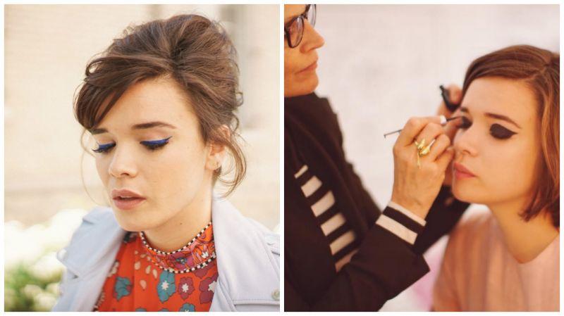 巴黎網紅Lisa Gachet在IG上公開推祟黑天鵝超精準眼線液製造的妝容。