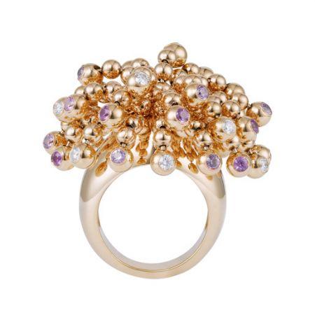 以煙火為造型的戒指,Cartier