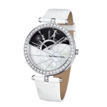 「巴黎的一天」腕錶,Van Cleef & Arpels