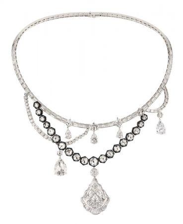 GALERIE DES GLACES 鑽石項鍊