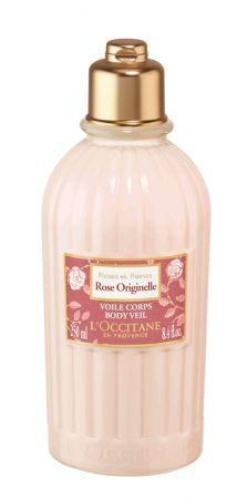 L'OCCITANE 玫瑰花繡美體乳 限量 250ml NT.1280:清爽水感質地,宛如薄紗般輕覆於肌膚,使膚觸更加柔嫩,繚繞柔美花果香氣。蘊含法國玫瑰精萃及玫瑰果油,使肌膚如絲緞般的柔嫩細緻。