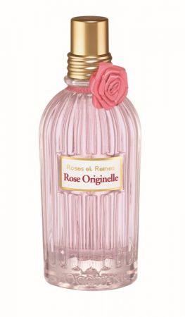 L'OCCITANE 玫瑰花繡淡香水 限量 75ml NT.2080:嬌貴細緻的迷人香氣,以佛手柑、黑醋栗以及嬌嫩欲滴的法國玫瑰花瓣共舞出甜美前味,刺激著感官,引領出紫羅蘭與木蘭結合格拉斯玫瑰精露的馥郁核心。最後在麝香與檀香鮮明高雅的香氣烘托下,使充滿女性柔媚氣質的花香更顯餘韻醉人。