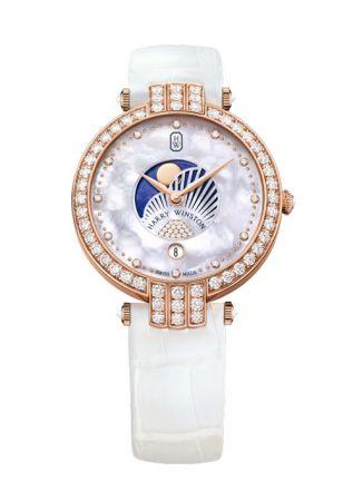 Premier 系列月相功能腕錶,Harry Winston