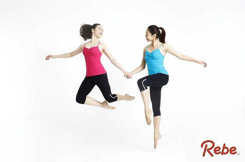 夏日輕盈細肩帶設計,搭配鮮豔馬卡龍色系,室內靜態活動、健身房運動、外出內搭皆時尚有型。