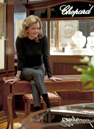 Chopard 聯合總裁暨創意總監Caroline Scheufele:「鑽石是我的最愛!我喜歡收藏由鑽石製成的各式珠寶作品,因為鑽石真的是女孩最好的朋友,不論它本身的款式、不論搭配什麼樣風格或顏色的衣著、出席哪種場合總是不會出錯!」