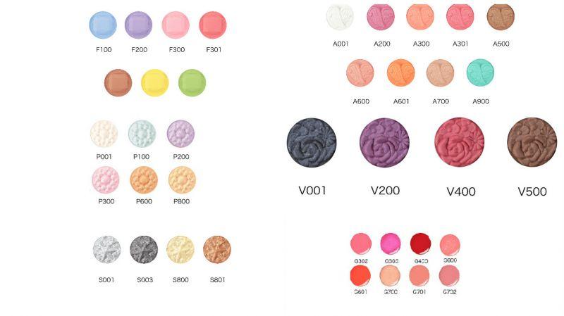 全新6大色系:糖霜系列、羽絨系列、珍珠系列、星塵系列、絲緞系列、唇彩系列,38色,每個色系NT450。