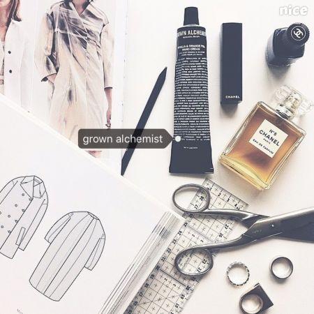 Grown Alchemist簡潔、俐落的包裝反映出墨爾本的從容與品味的生活態度。
