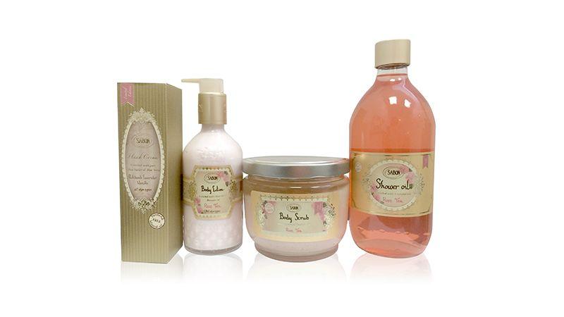玫瑰茶語沐浴系列