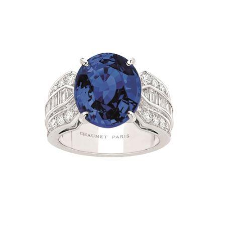 藍寶石戒指,Chaumet