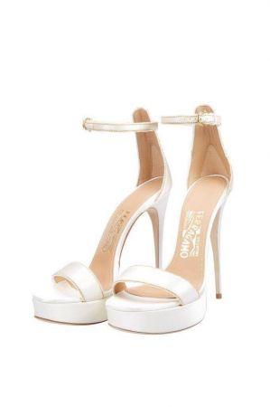 陳妍希的Salvatore Ferragamo訂製婚鞋