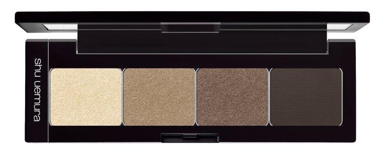 植村秀 裸風時尚眼彩盤-焦糖深棕-自然色系 限定色 $2,200